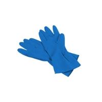 Перчатки многоцелевые, голубые, размер L