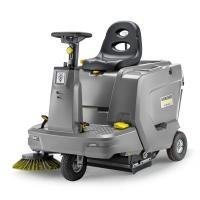 Подметальная машина Karcher KM 85/50 R Bp