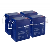 Комплект аккумуляторных батарей VTG 6/245 для B 80/100 W Classic