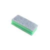 Губка с покрытием из абразивного волокна зеленая