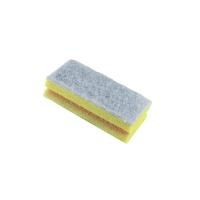 Губка с покрытием из абразивного волокна желтая