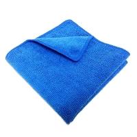 Салфетка микрофибра 220 г/м 30*30 синяя