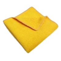 Салфетка микрофибра 220 г/м 30*30 желтая
