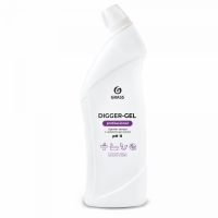 "Средство щелочное для прочистки канализационных труб ""Digger-gel"" Professional (флакон 1000 мл)"