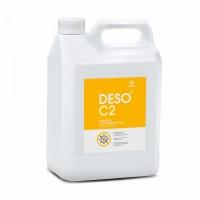 Дезинфицирующее средство с моющим эффектом на основе ЧАС DESO C2 клининг (канистра 5 л)