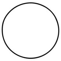 Кольцо резиновое D133,02х2,62(3525) для помпы E3B2515R