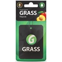 Картонный ароматизатор GRASS (персик)