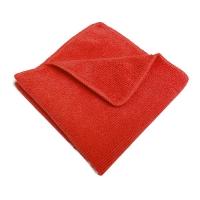 Салфетка микрофибра 220 г/м 30*30 красная