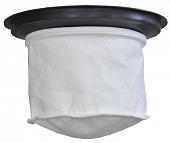 Фильтр тканевый для 15л пылесоса с пластиковым кольцом