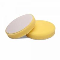 Мягкий желтый роторный поролоновый круг 130/140 Detail