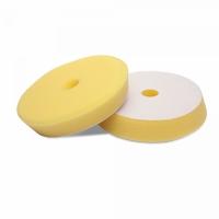 Мягкий желтый эксцентриковый поролоновый круг 130/150 Detail