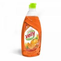 Средство для мытья посуды «Velly» Сочный мандарин  (флакон 500 мл)