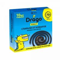 Средство инсектицидное «Спираль от комаров – эффект» Drago (10 спиралей)
