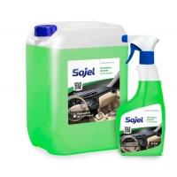 Полироль-очиститель пластика глянцевая Sojel 0,5л / 1л / 5л